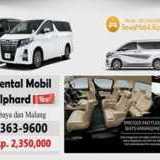Rent Car Mewah Alphard Surabaya | Sewa Mobil Mewah Murah Alphard di Malang