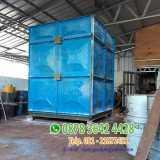 Proyek tangki roof tank panel frp - Foto 1