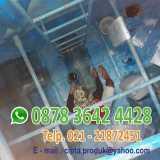 Perbaikan roof tank panel fiberglass - Foto 2