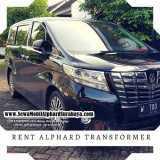 Rencar Alphard Murah Di Surabaya   Rental Mobil Mewah Alphard Surabaya - Foto 1