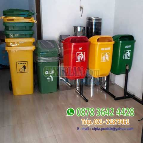 Tong sampah 3 in 1