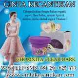 CHOMNITA CLEAR DARK MEMUTIHKAN KULIT SMS/WA 081291625333