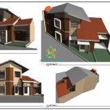 Jasa Gambar Arsitek Desain 3D dan RAB - BAGUSRUMAHKU - Foto 2