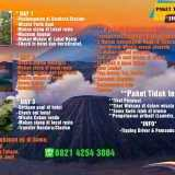 Paket Tour Bromo 3Hari 2Malam Termurah di Malang