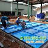 Membuat roof tank panel frp