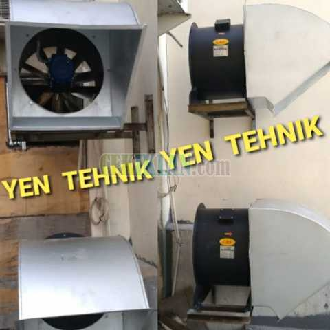 hood ducting restoran fan