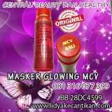 MASKER GLOWING MCV MERAH hub 081316077399