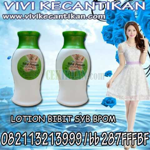 LOTION BIBIT SYB BPOM hub 082113213999