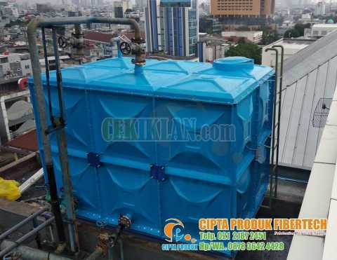 Panel water tank roof tank