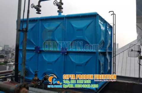 Roof tank panel frp kotak