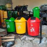 Tong Sampah Pilah 3 Gandeng