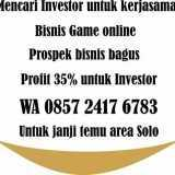 Investor untuk perusahaan bidang game online - Foto 1
