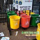 Tempat sampah fiber - Foto 2