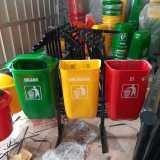 Tempat Sampah pilah gandeng - Foto 3