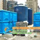 Roof Tank Panel Frp Tangki Penampungan Air Fiber - Foto 2