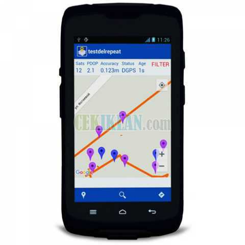 Jual GPS Spectra Precision MobileMapper 50 andi Call 082213743331