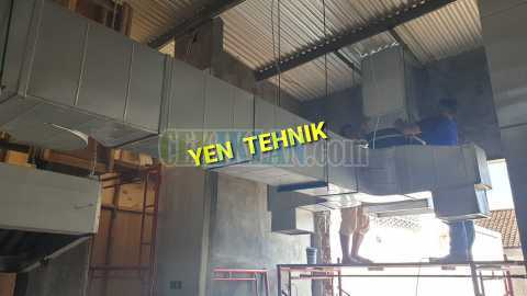 kitchen hood ducting
